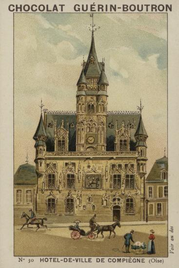 Hotel-De-Ville De Compiegne, Oise--Giclee Print
