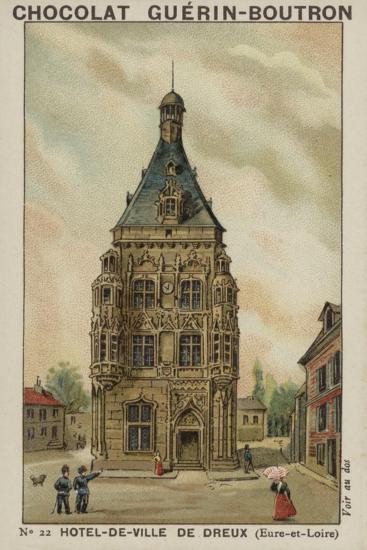 Hotel-De-Ville De Dreux, Eure-Et-Loire--Giclee Print