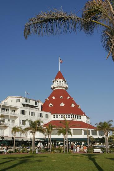 Hotel Del Coronado, Coronado, San Diego, California, USA-Peter Bennett-Photographic Print