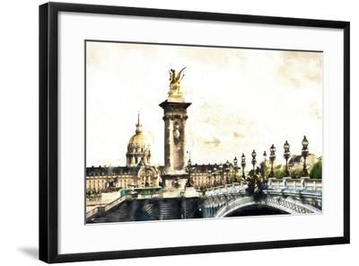 Hotel des Invalides Paris-Philippe Hugonnard-Framed Giclee Print