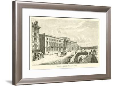 Hotel Des Monnaies, 1810--Framed Giclee Print