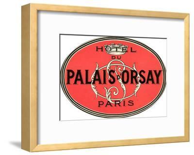 Hotel Du Palais D'Orsay