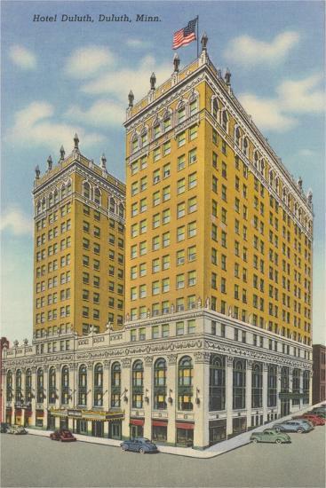 Hotel Duluth--Art Print
