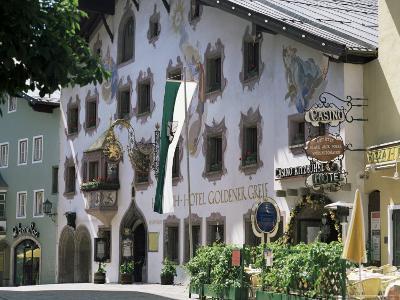 Hotel Exterior, Kitzbuhel, Tirol (Tyrol), Austria-G Richardson-Photographic Print