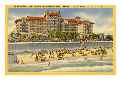 Hotel Galvez, Galveston, Texas--Art Print