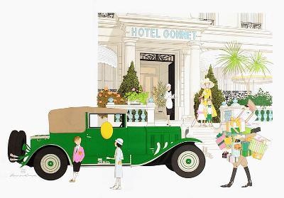 Hôtel Gonnet à Cannes-Philippe Noyer-Limited Edition