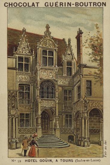 Hotel Gouin, a Tours, Indre-Et-Loire--Giclee Print