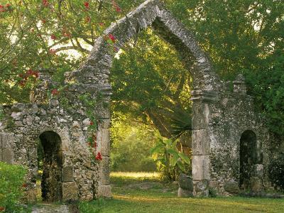 Hotel Hacienda, Chichen Itza, Yucatan Peninsula, Mexico-Walter Bibikow-Photographic Print