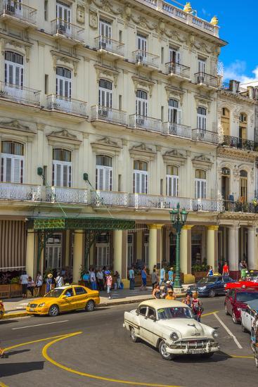 Hotel Inglaterra, Havana, Cuba, West Indies, Caribbean, Central America-Alan Copson-Photographic Print