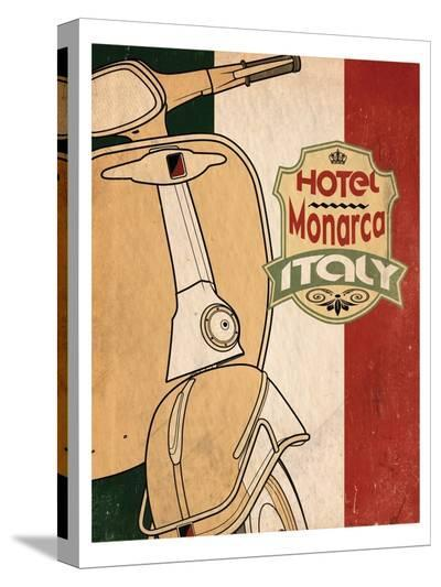 Hotel Italy-Jason Giacopelli-Stretched Canvas Print