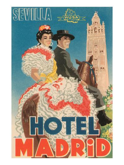 Hotel Madrid--Art Print