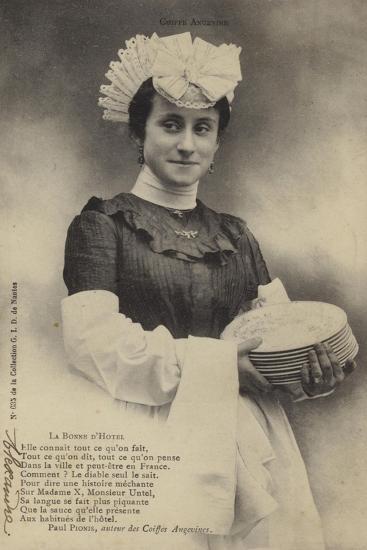 Hotel Maid--Giclee Print