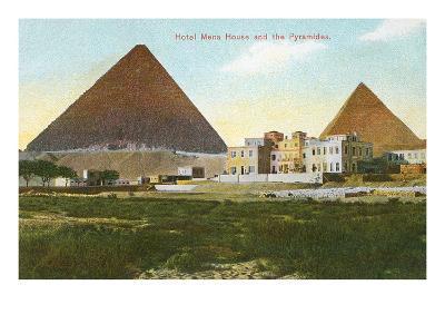 Hotel Mena House, Pyramids, Giza, Egypt--Art Print