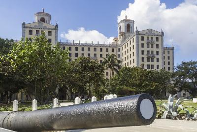 Hotel Nacional and Cannon, Havana, Cuba, West Indies, Caribbean, Central America- Rolf-Photographic Print
