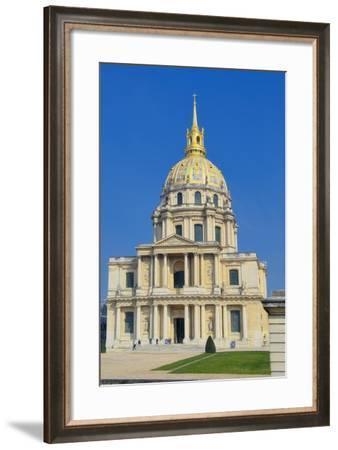 Hotel National des Invalides III-Cora Niele-Framed Giclee Print