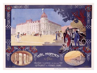 Hotel Negresco- Lorant-Heilbronn-Giclee Print