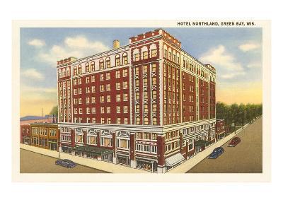 Hotel Northland, Green Bay, Wisconsin--Art Print