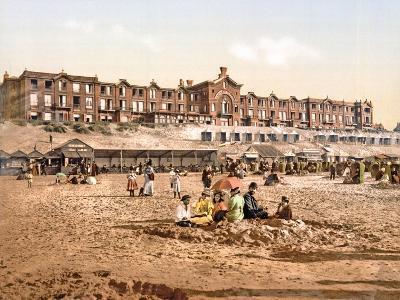 Hotel Orange from the Beach at Scheveningen, Pub. C.1900--Giclee Print