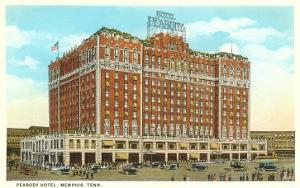 Hotel Peabody, Memphis, Tennessee