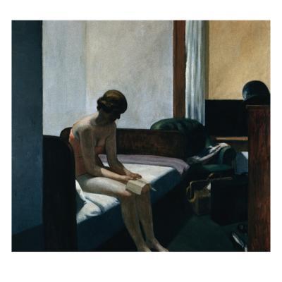 Hotel Room-Edward Hopper-Giclee Print