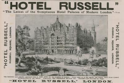 Hotel Russell, Russell Square, London-Harold Oakley-Giclee Print