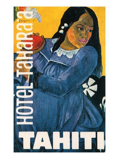 Hotel Tahara'a, Tahiti, c.1892-Paul Gauguin-Giclee Print