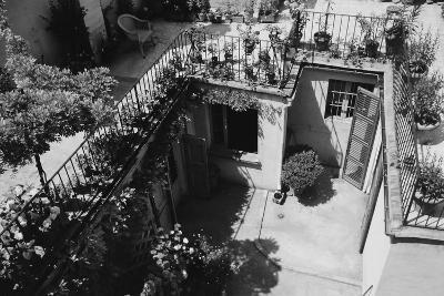 Hotel Terrace in Ravenna-Otto Zenker-Photographic Print