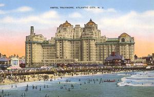 Hotel Traymore, Atlantic City, New Jersey