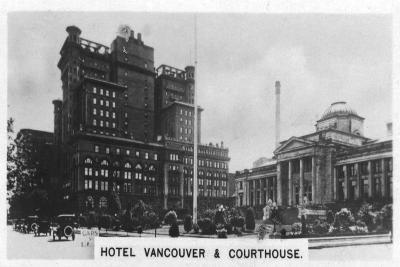 Hotel Vancouver and Courthouse, Canada, C1920S--Giclee Print