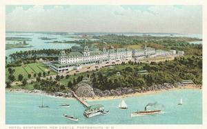 Hotel Wentworth, New Castle, Portsmouth, New Hampshire