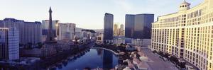 Hotels in a City, the Strip, Las Vegas, Nevada, USA 2010
