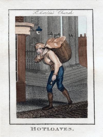 Hotloaves, St Martin's Church, London, 1805--Giclee Print