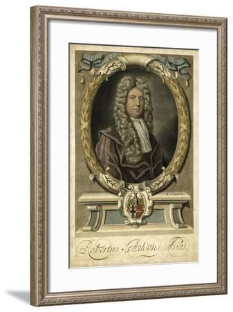 Houbraken Portrait I-J. Houbraken-Framed Art Print