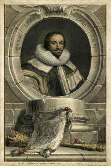 Houbraken Portrait IV-J. Houbraken-Art Print