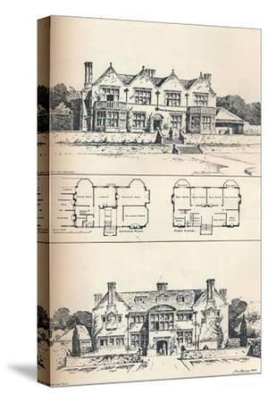 Houghton Grange, Near Huntingdon, C1897