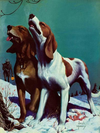 """Hound Dog,""December 9, 1939-Jack Murray-Giclee Print"