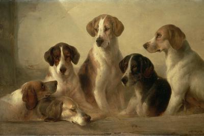 Hounds-Edward Robert Smythe-Giclee Print