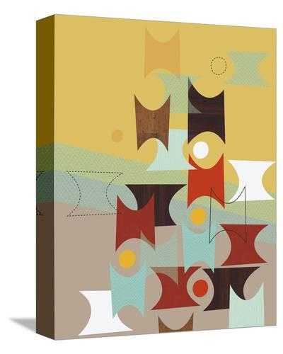 Hour Glasses-Jenn Ski-Stretched Canvas Print