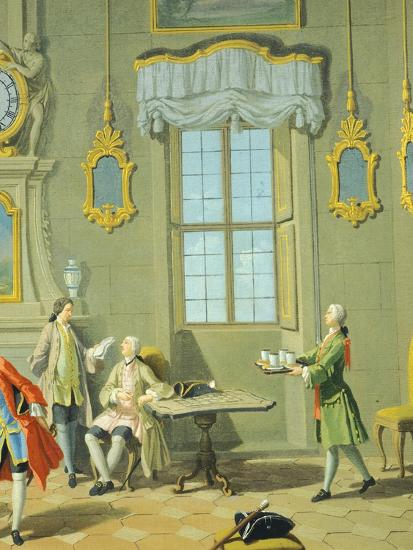 Hours of Day, Morning, 1753-1755-Giuseppe Zocchi-Giclee Print