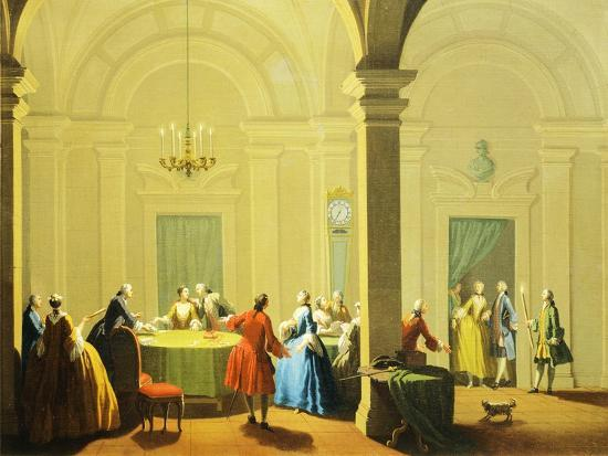 Hours of Day, Night, 1753-1755-Giuseppe Zocchi-Giclee Print