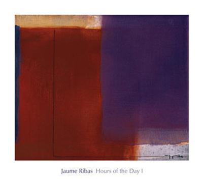 Hours of the Day I-Jaume Ribas-Art Print