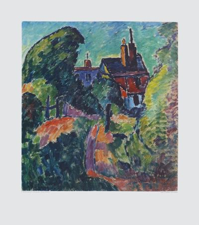 House among Trees-Alexej Von Jawlensky-Collectable Print