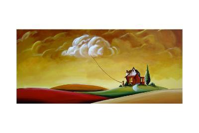 House and Cloud-Cindy Thornton-Art Print
