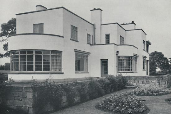 'House at Burn Bridge by The Late John Procter, F.R.I.B.A.', 1942-Unknown-Photographic Print