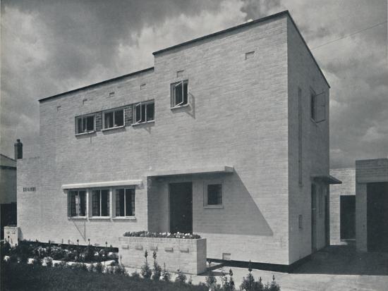 'House at Hoghton, Lancs., by Frank Waddington', 1942-Unknown-Photographic Print