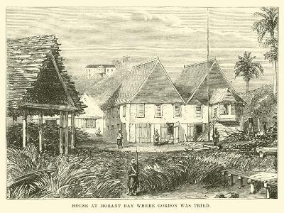 House at Morant Bay Where Gordon Was Tried--Giclee Print