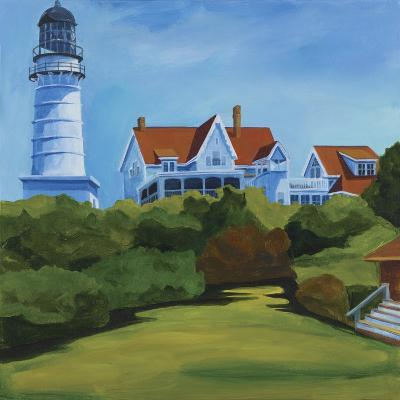 House at Two Lights-Catherine Breer-Giclee Print