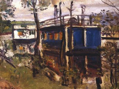 House Boats, Loch Lomond--Giclee Print