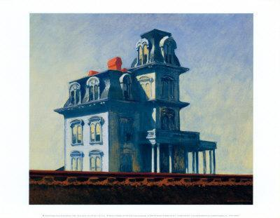Edward Hopper House by the Railroad Poster Print
