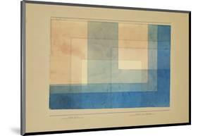 House by the Water-Paul Klee-Mounted Premium Giclee Print